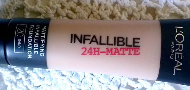 Base L'Oréal Infallible 24h Matte