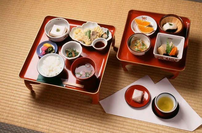 Shojin ryori, semplice e deliziosa arte buddista di cucinare.