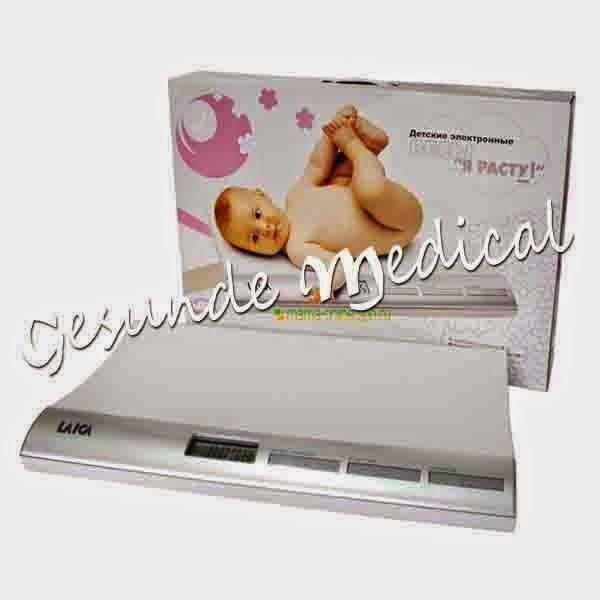 distributor timbangan badan digital Laica khusus bayi