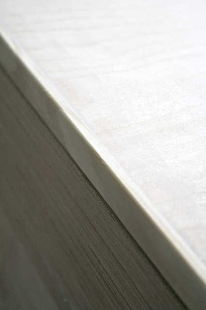 Easy way to finish edges of wood