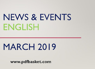 NEWS AND EVENTS-ENGLISH-MARCH 2019 | pdfbasket