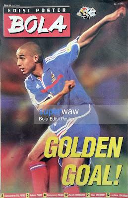 Bola Edisi Poster - Golden Goal!
