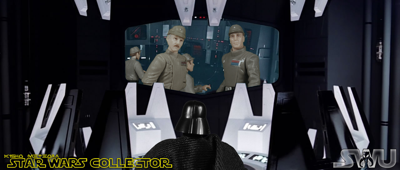 The Plastic Strikes Back You Are In Command Now Admiral Piett
