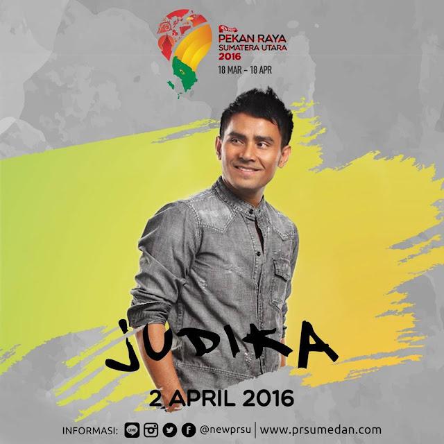 Penampilan Judika di Pekan Raya Sumatera Utara 2016