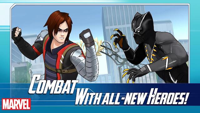 marvel avengers academy apk indir