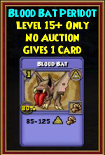 Blood Bat - Wizard101 Card-Giving Jewel Guide