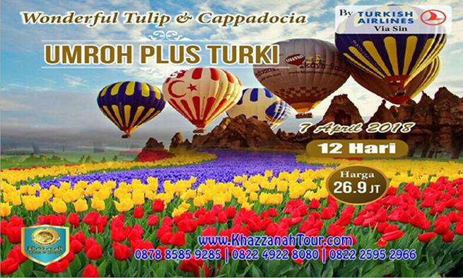 Khazzanah Tours Tulip di Turki