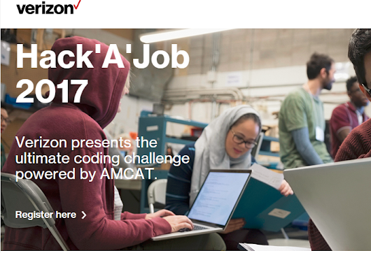 Win in Hack'A'Job to be Placed in Verizon - Full Details Here         | Freshers 2017 / 2016 / 2015 OffCampus February March Jobs