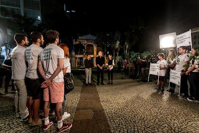 Conselheiros e Roberto Justus com as equipes Share e Hashtag - Divulgação/Band