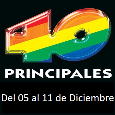 Los 40 Principales del 05 al 11 de Diciembre (2015)