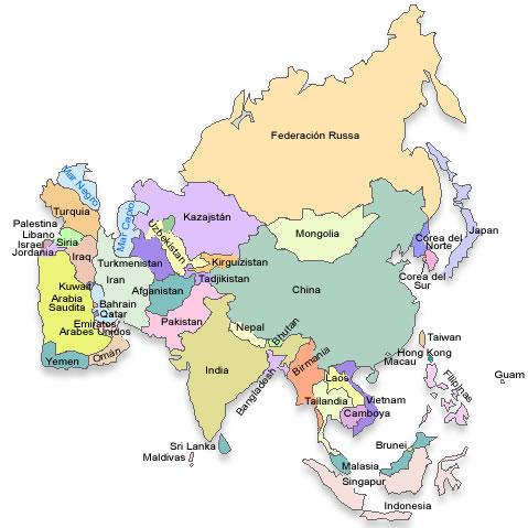 Profesor de historia geograf a y arte geograf a y for Bengala asia