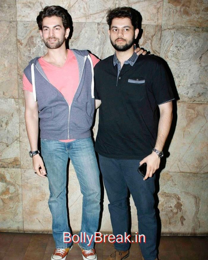 Niel Nitin Mukesh, Naman Nitin Mukesh, 'Tanu Weds Manu Returns' Special Screening Pics
