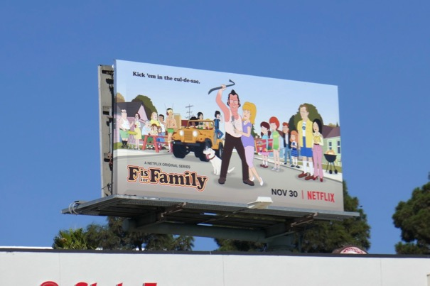 F is for Family season 3 billboard