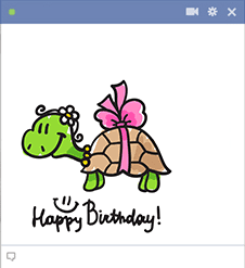 Turtle Happy Birthday