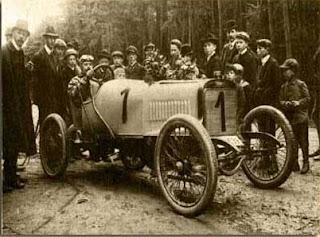 Grüning auf Adler 1909