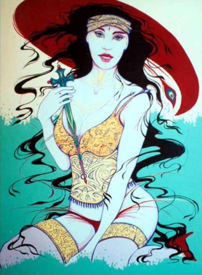 Американский художник. Gerald Larribas