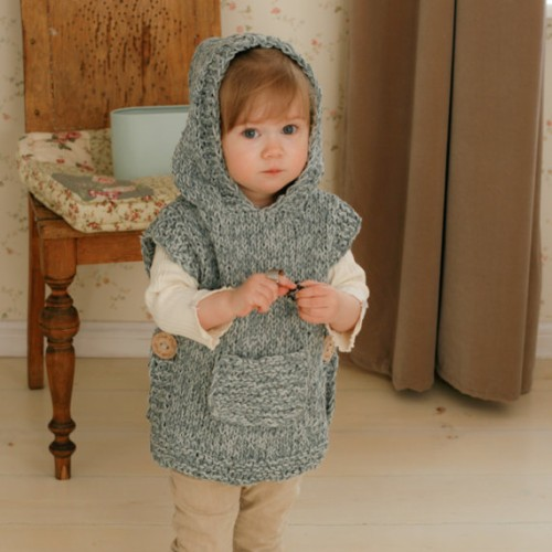 Beautiful Skills Crochet Knitting Quilting Little One Hoodie