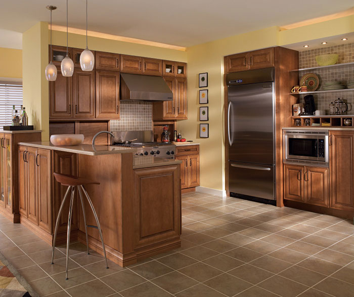 Natural Maple Kitchen Cabinets: Home Improvement & Construction