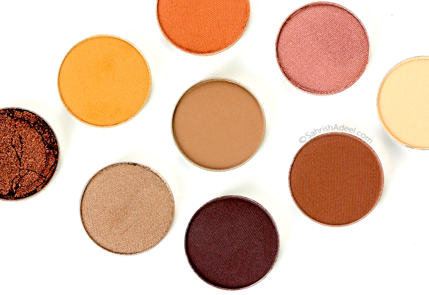 Makeup Geek Pressed Eyeshadows - Review & Swatches (Part IV)