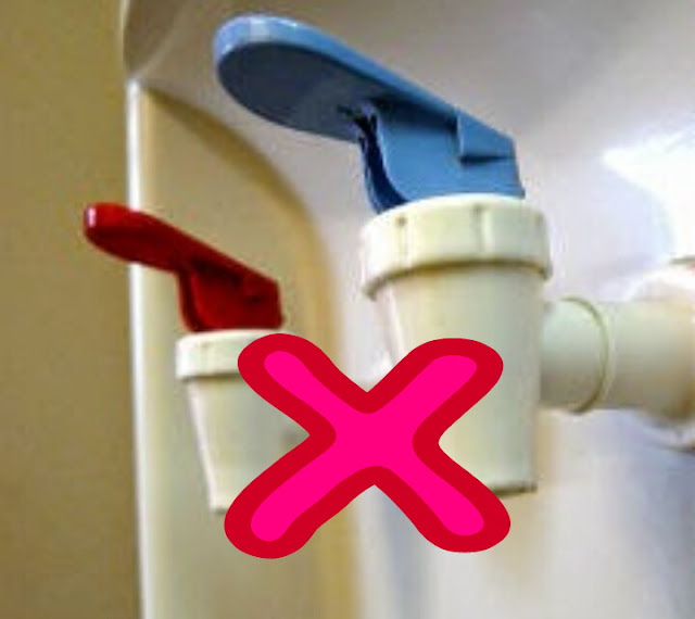 Penyebab Kran Dispenser Tidak Keluar Air dan cara perbaikinya