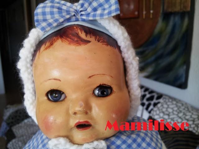 Muñeco llorón años 30-40
