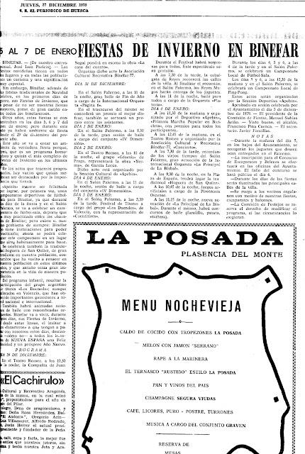 Fiestas de Invierno de 1979 en Binéfar