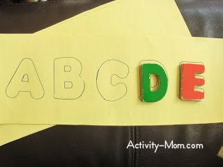 Make Your Own Letter Puzzle