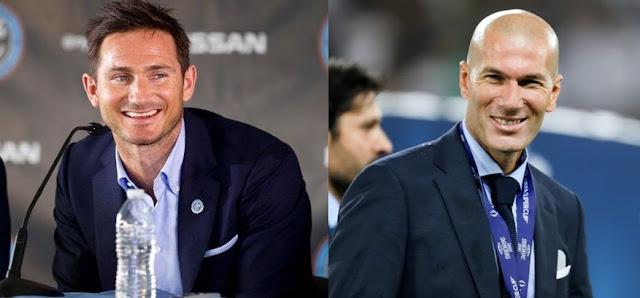 Frank Lampard atau Zinedine Zidane?