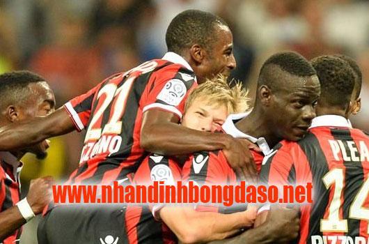 Nice vs Dijon www.nhandinhbongdaso.net