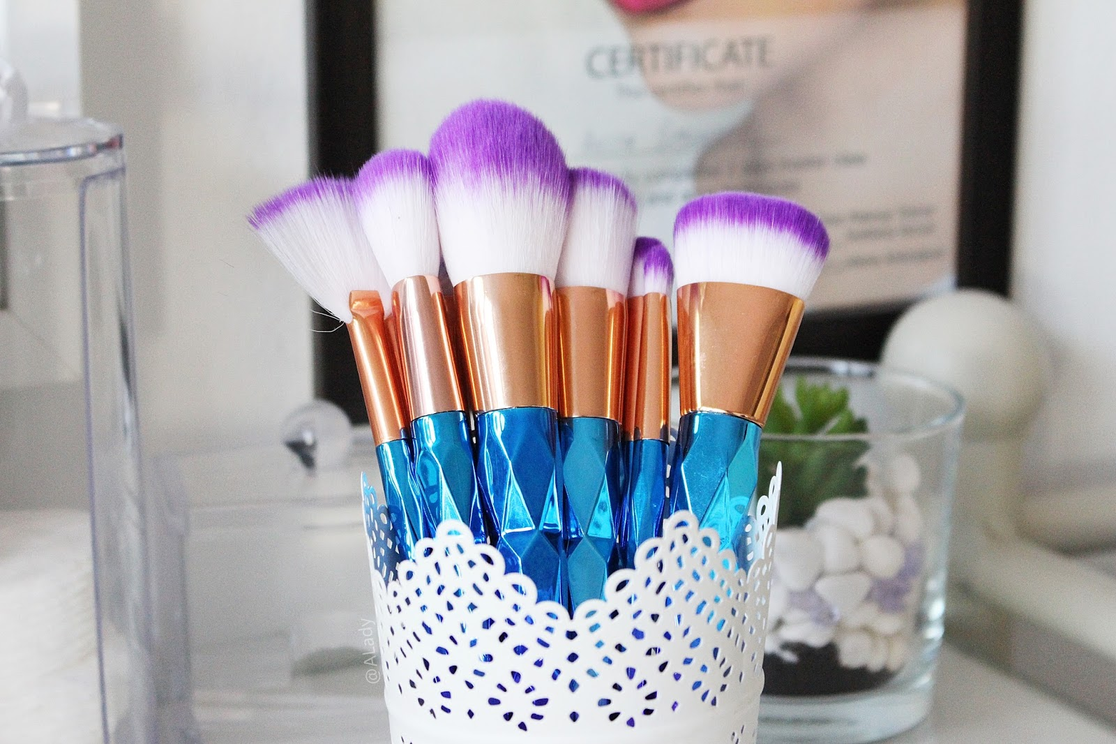Unicorn brushes zaful