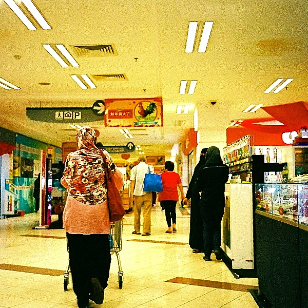 Analog Diary, In the Mall 01