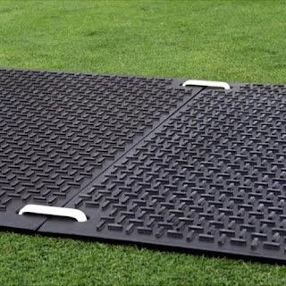 Greatmats walkway mats on grass