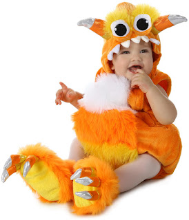 Candy Horn Baby Infant Costume for Halloween