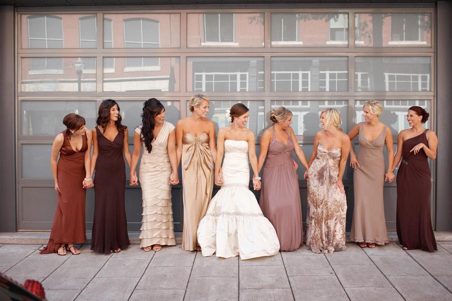 Blushing Bridesmaids: Find The Best Cut Bridesmaids' Dress