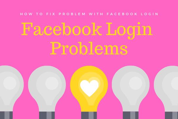 Facebook Login Problems