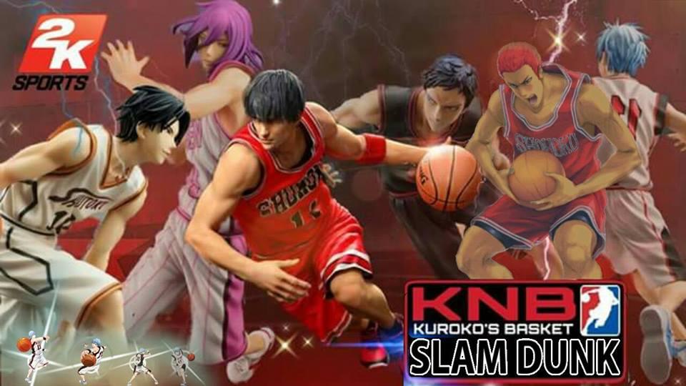 Triple W Dot Slamdunk Vs Kuroko Basketball