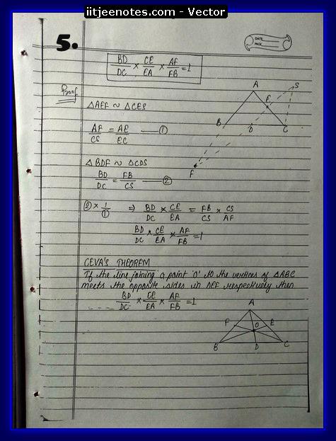 vector notes physics5
