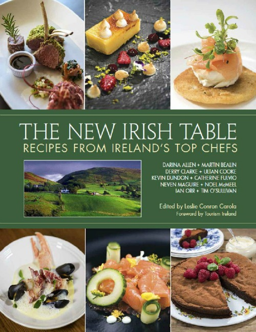 New Irish Recipes Cookbook fresh ingredient cooking
