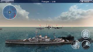 WARSHIP BATTLE 3D World War 2 Apk Mod High Damage