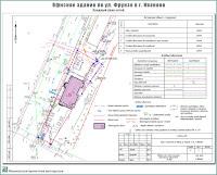 Проект офисного здания по ул. Фрунзе г. Иваново. Сводный план сетей