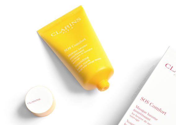 Clarins SOS Comfort Nourishing Balm Face Mask Review