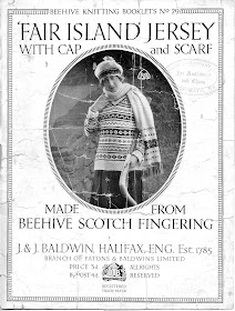 Knitting Now and Then: 1920s Fair Isle