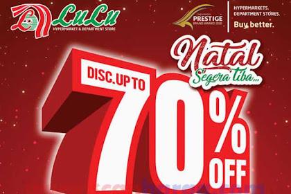 Katalog Promo Lulu Edisi Khusus Natal 6 - 19 Desember 2018