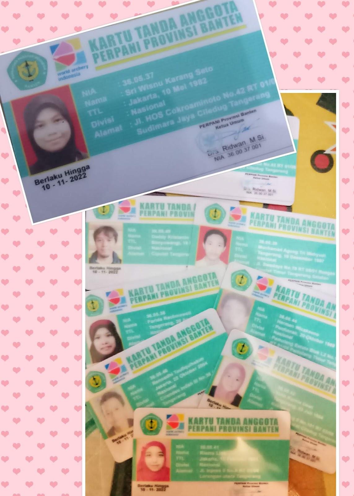 Contoh Kartu Anggota Organisasi - Aneka Contoh