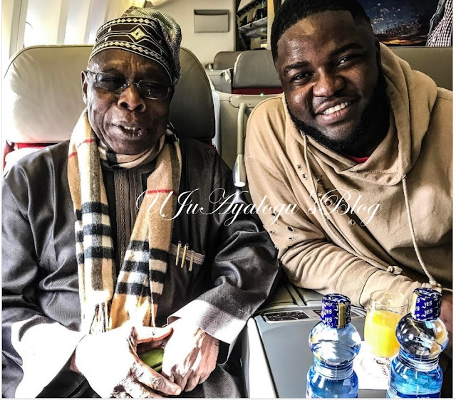 Obasanjo Turns Music Producer, Joins #neversaynevergang ..Watch Video, Photos