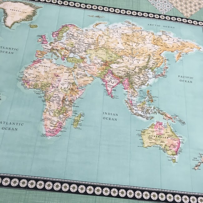 map atlas quilt