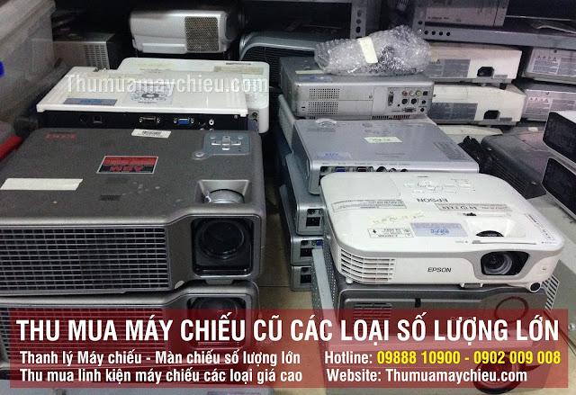 Thu mua xác máy chiếu Panasonic các loại tận nơi tại TpHCM