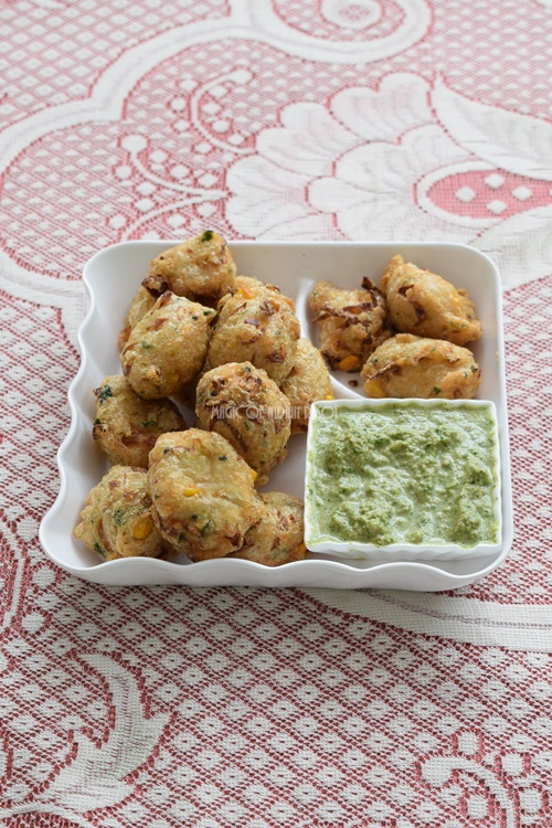 Cabbage Corn Vada Recipe | Cabbage Corn Pakoda- Magic of Indian Rasoi - Priya R
