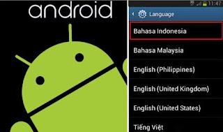 Cara Menambah Bahasa Indonesia di Android Tanpa Root (Samsung Galaxy, Fujitsu, Xiaomi, Lenovo)