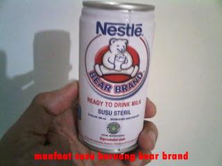 manfaat susu beruang bear brand